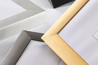 Cadres en aluminium