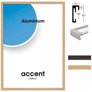 Cadre en aluminium Duo