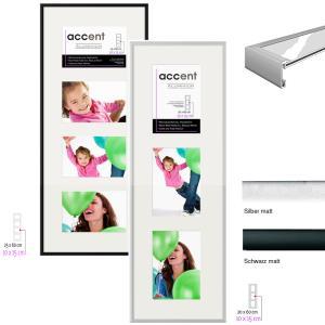 Cadre galerie en aluminium Accent