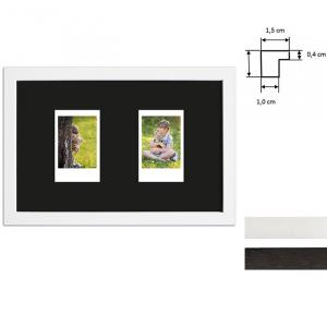 Cadre pour 2 photos immédiats - Typ Instax Mini