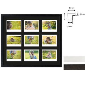 Cadre pour 9 photos immédiats - Typ Instax Wide