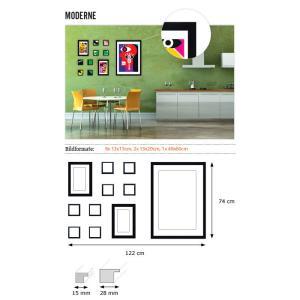 """Galerie pour parois """"Moderne"""""""