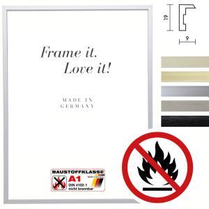 Cadre certifié ininflammable standard A1 Econ plat