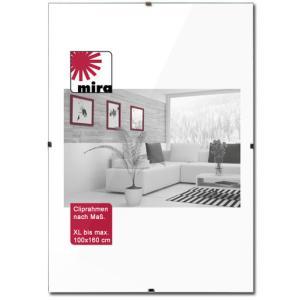 Cadre sans bordures sur mesure jusqu'à 100x160 cm