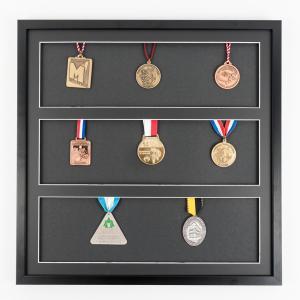Cadre pour médailles 50x50 cm, noir