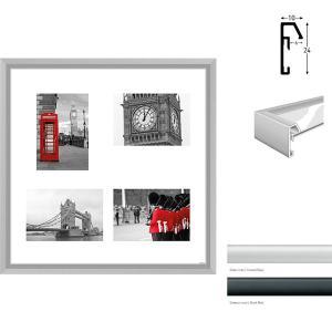 Cadre galerie Junior quadratique 4 photos