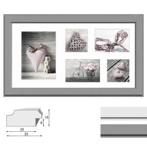 Cadre de galerie MALMO pour 5 photos