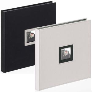 """Album livre """"Black & White"""" avec pages neutres, 30x30 cm"""