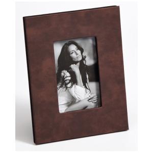Cadre pour portrait Helene avec cuir synthétique