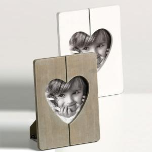 Cadre photo Cuore avec coupe en forme de coeur