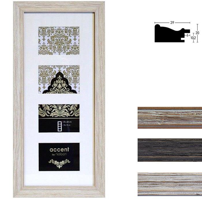 Cadre galerie en bois Vintage