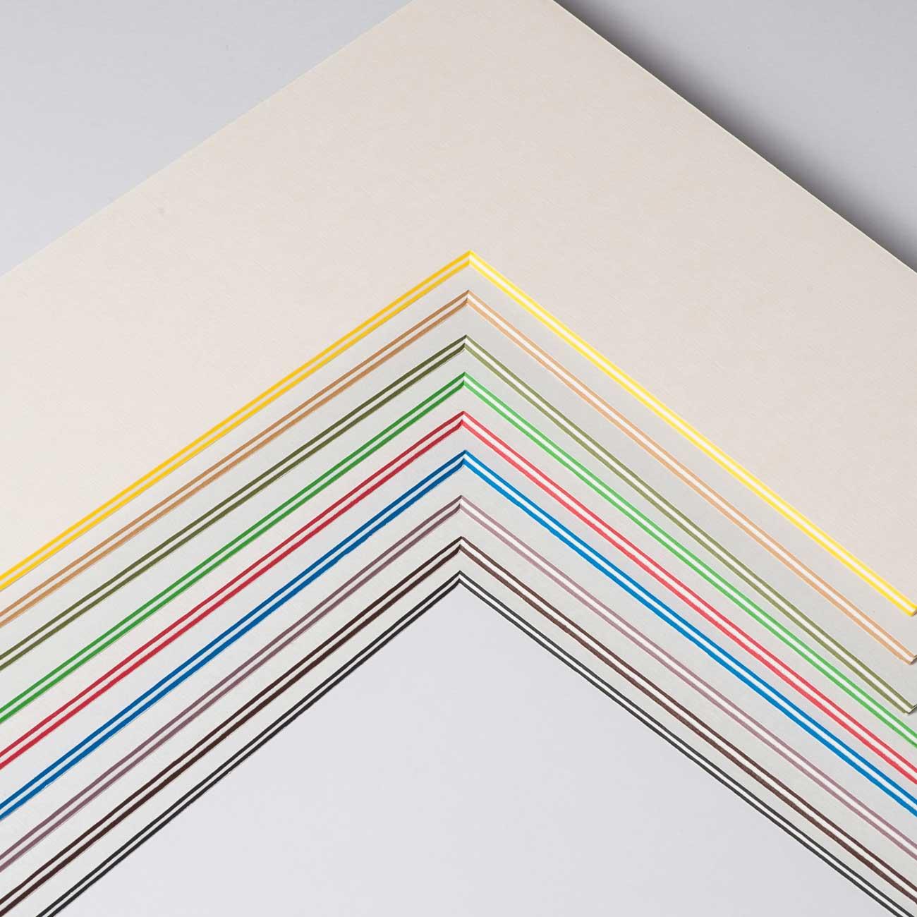 2,2 mm ColorCoreStripe passe-partout avec coupe individuelle