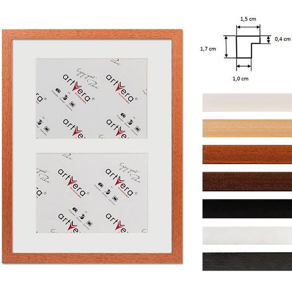 """Cadre galerie pour 2 photos """"Uppsala"""", 30x40 cm - 15x20 cm"""