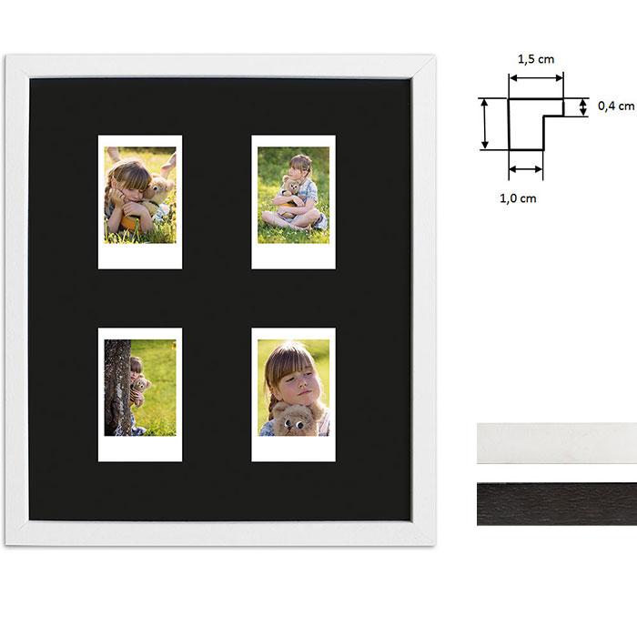 Cadre pour 4 photos immédiats - Typ Instax Mini