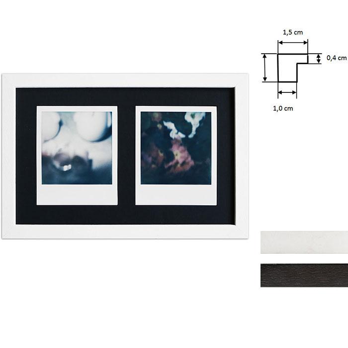 Cadre pour 2 photos immédiats - Typ Polaroid 600