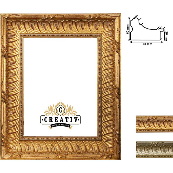 cadre baroque Grosso sur mesure