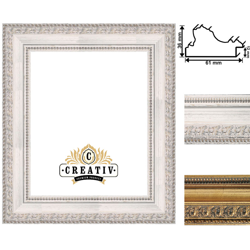 cadre baroque en bois massif Varese