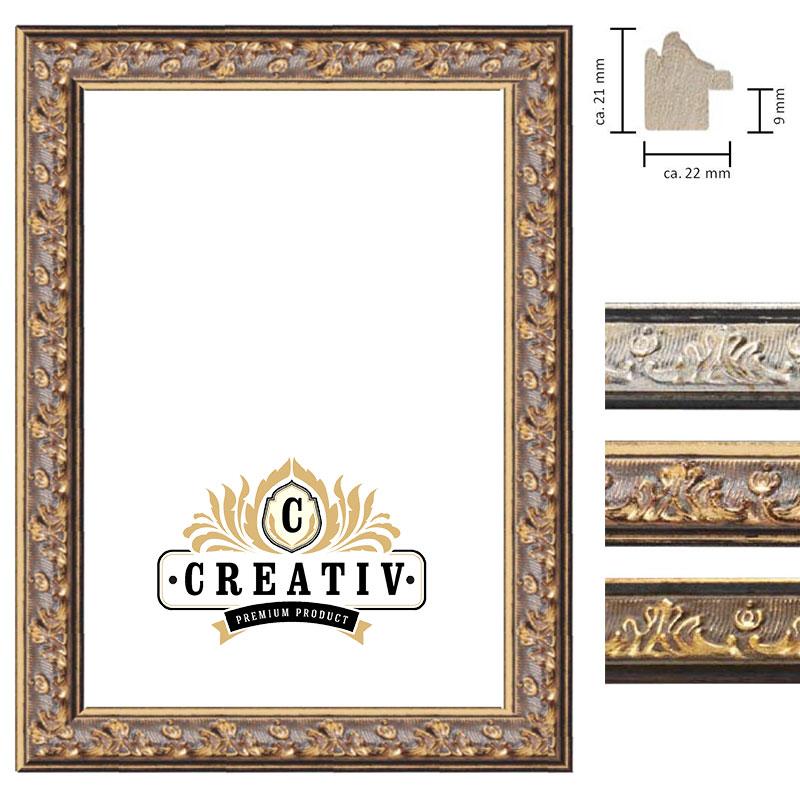 cadre baroque en bois massif Genova sur mesure