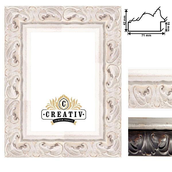 cadre baroque en bois massif Udine sur mesure