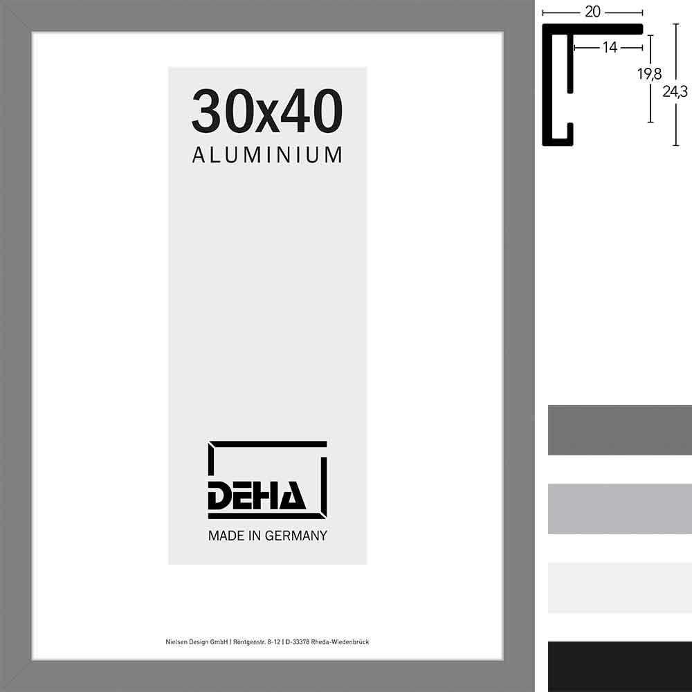 deha cadre en aluminium lukida coupe sur mesure. Black Bedroom Furniture Sets. Home Design Ideas