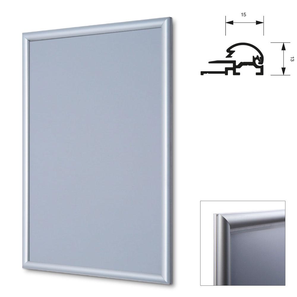 display cadre pliant 15 mm 21x29 7 cm a4 argentin. Black Bedroom Furniture Sets. Home Design Ideas