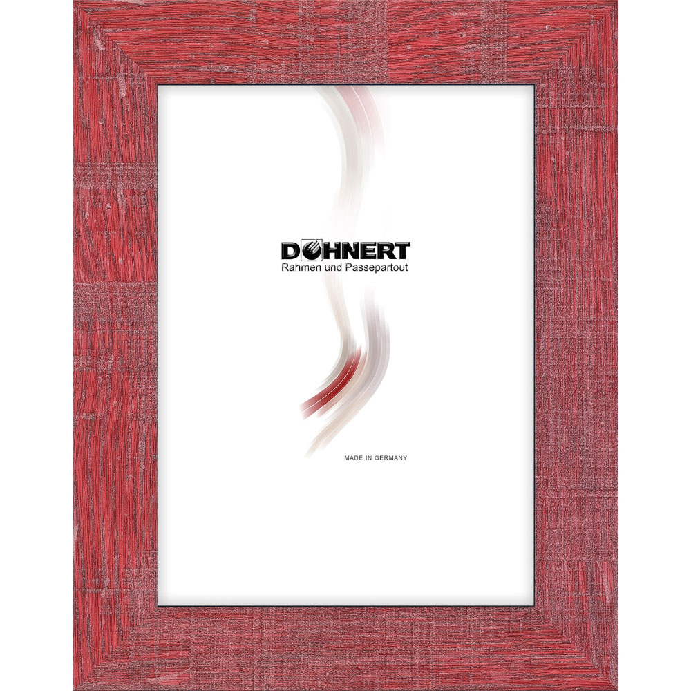 doehnert cadre en plastique archway 40x50 cm rouge verre normal. Black Bedroom Furniture Sets. Home Design Ideas