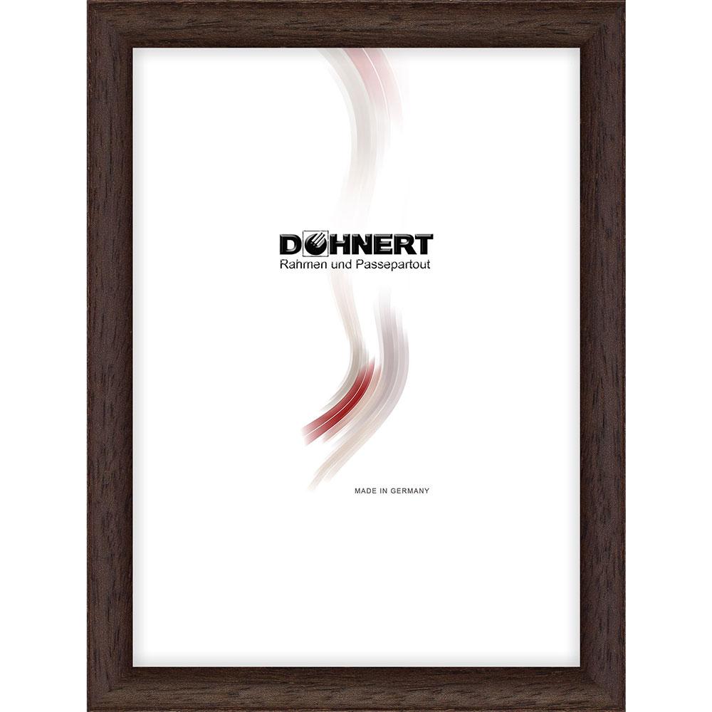 doehnert cadre en bois buckhurst hill 50x60 cm wenge verre normal. Black Bedroom Furniture Sets. Home Design Ideas