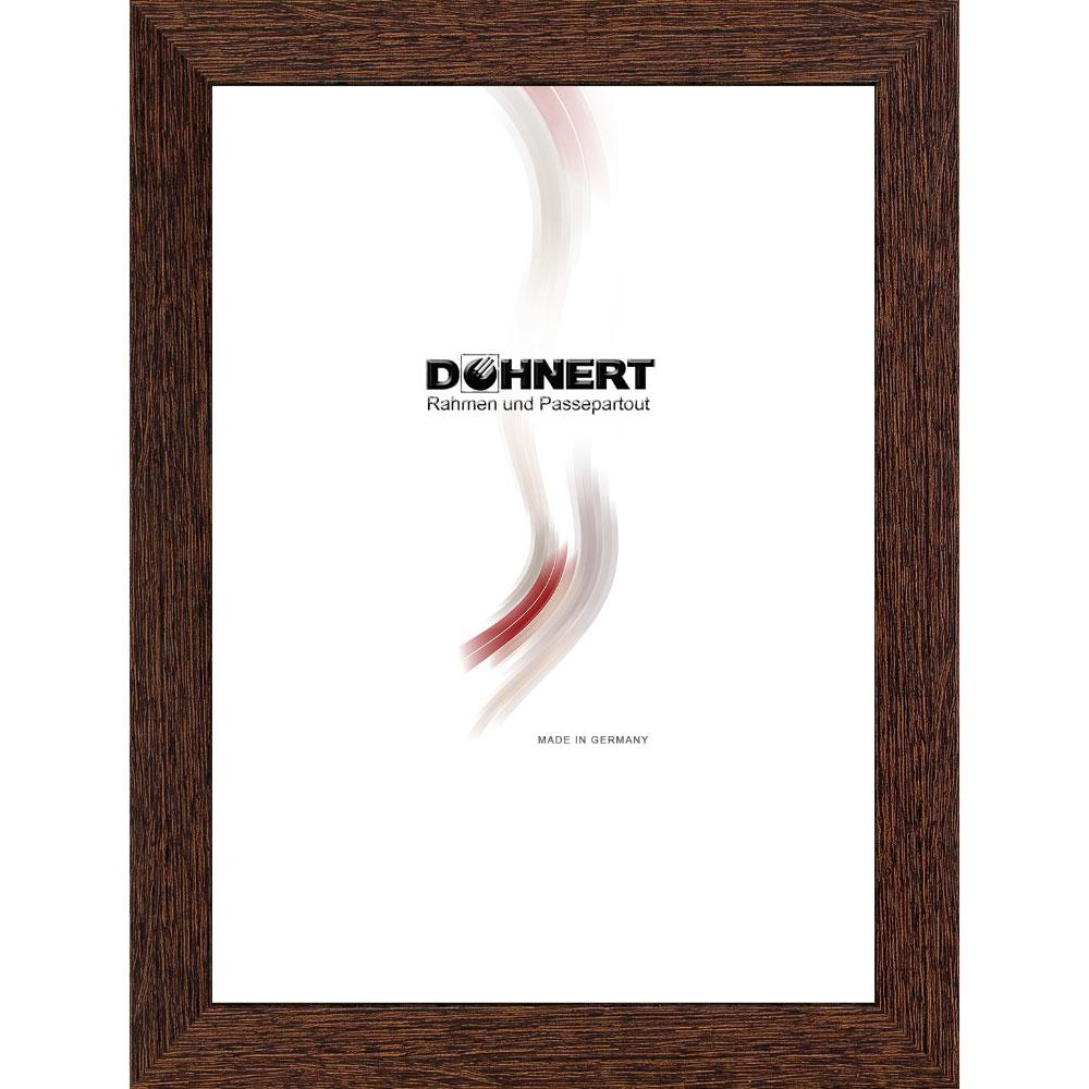 doehnert cadre en plastique burnt oak 50x50 cm brun fonc verre normal. Black Bedroom Furniture Sets. Home Design Ideas
