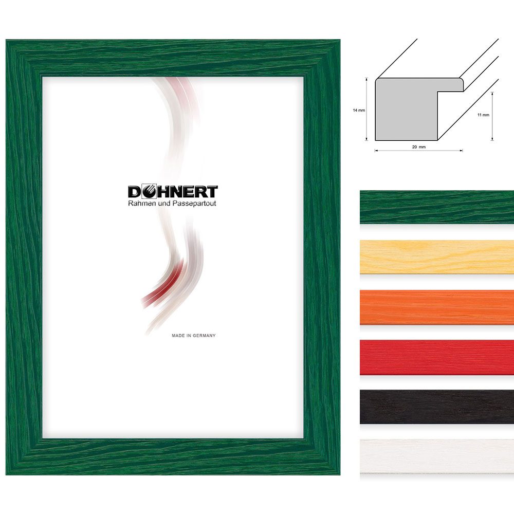 doehnert cadre en bois clapham south 20x40 cm naturel verre normal. Black Bedroom Furniture Sets. Home Design Ideas