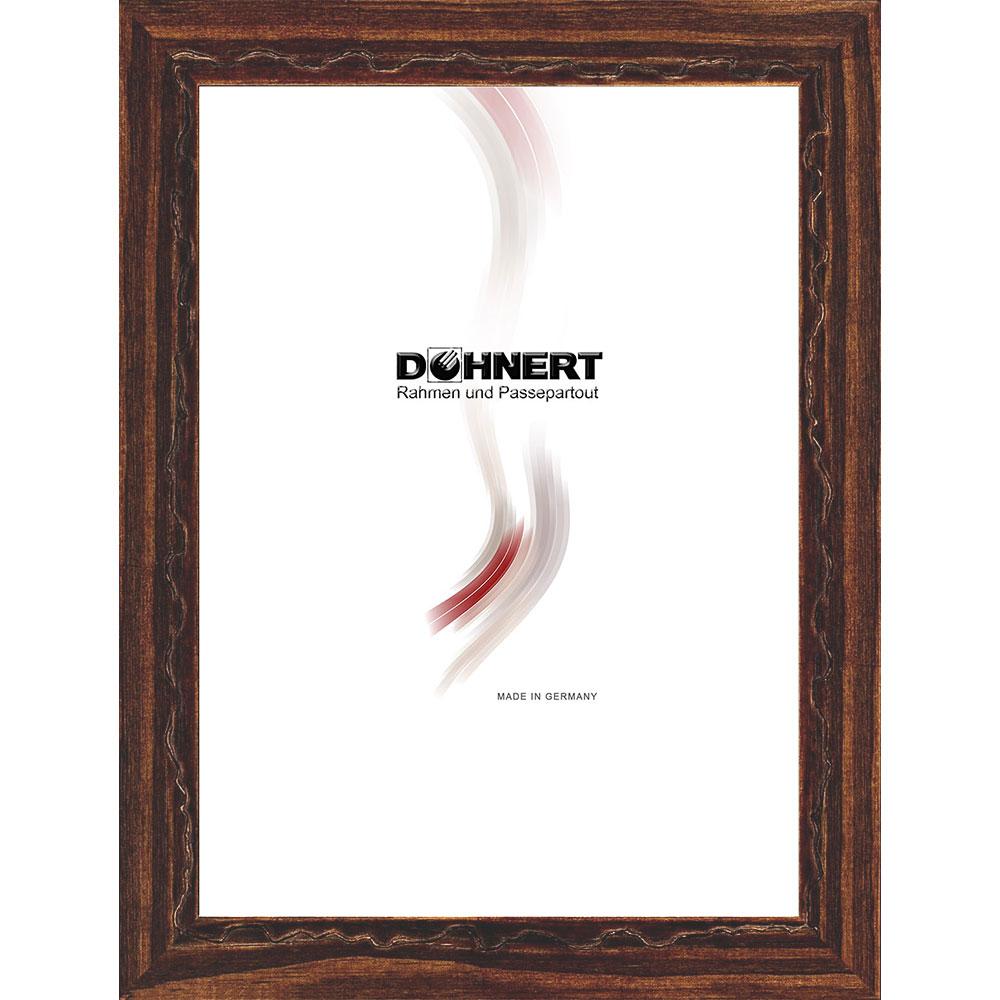 Cadre en bois Dagenham Heathway 21x29,7 cm (A4) | brun café | verre standard