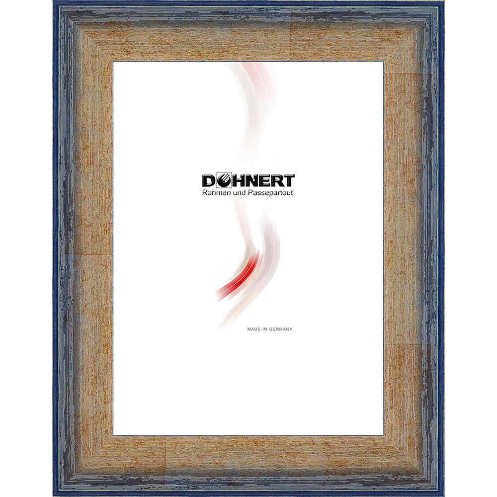 Cadre en bois High Barnet 13x18 cm | bleu | verre standard