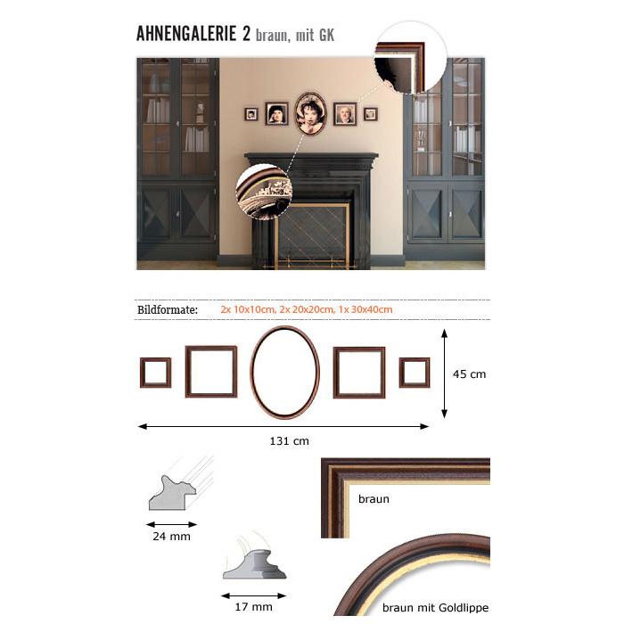 """Galerie pour parois """"ancêtres 2"""""""