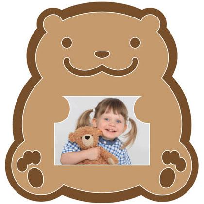 """Passe-partout avec motif """"ours"""""""