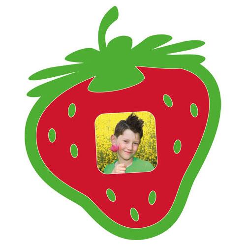 """Passe-partout avec motif """"fraise"""""""