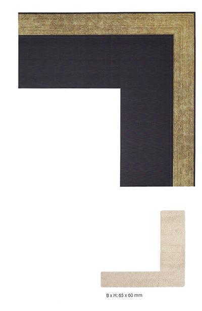 Cadre à joints creux sur mesuret Letain