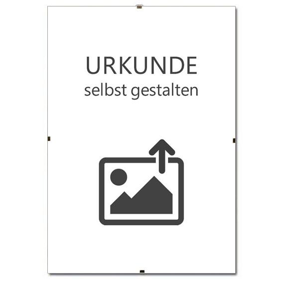 Support d'image sans cadre pour certificats