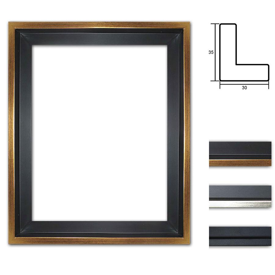 mira cadre joints creux eclipse noir sur mesure. Black Bedroom Furniture Sets. Home Design Ideas