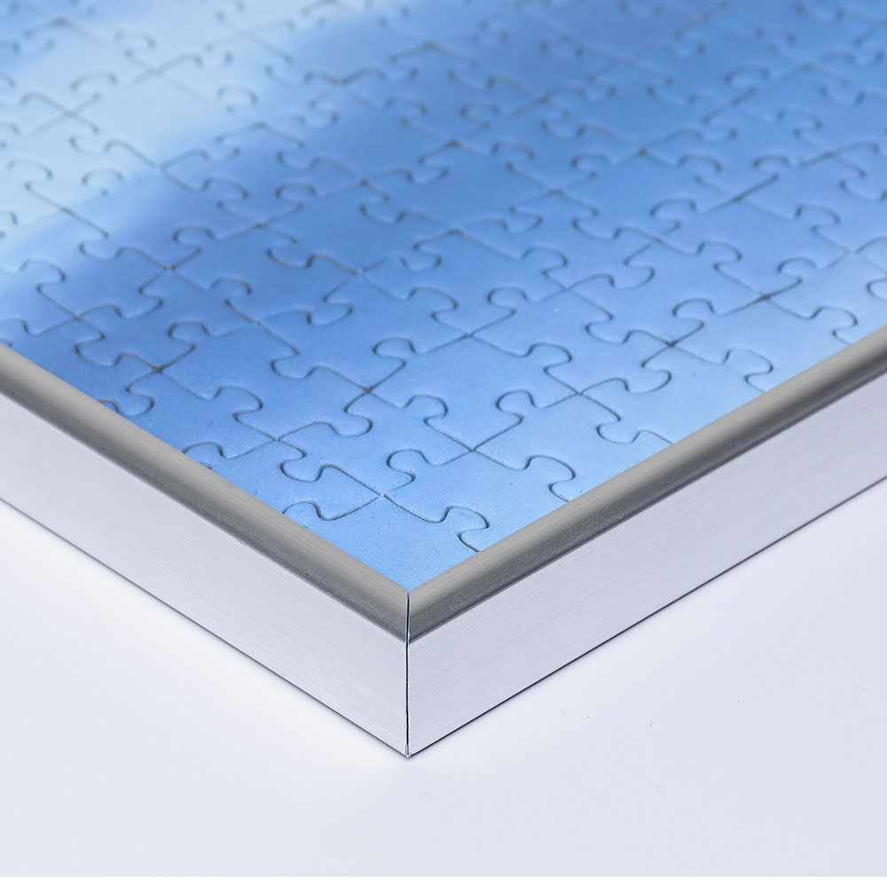 Cadre pour puzzles en plastique pour de 100 jusqu'à 500 pièces 30x40 cm (Edition Ricordi) | argentin | verre artificiel