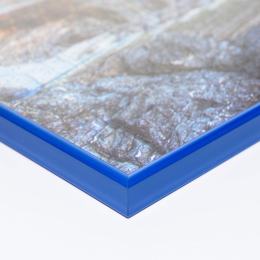 Cadre en plastique pour puzzle 1000 pièces 49,3x69,3 cm (Schmidt) | bleu | verre artificiel antireflet