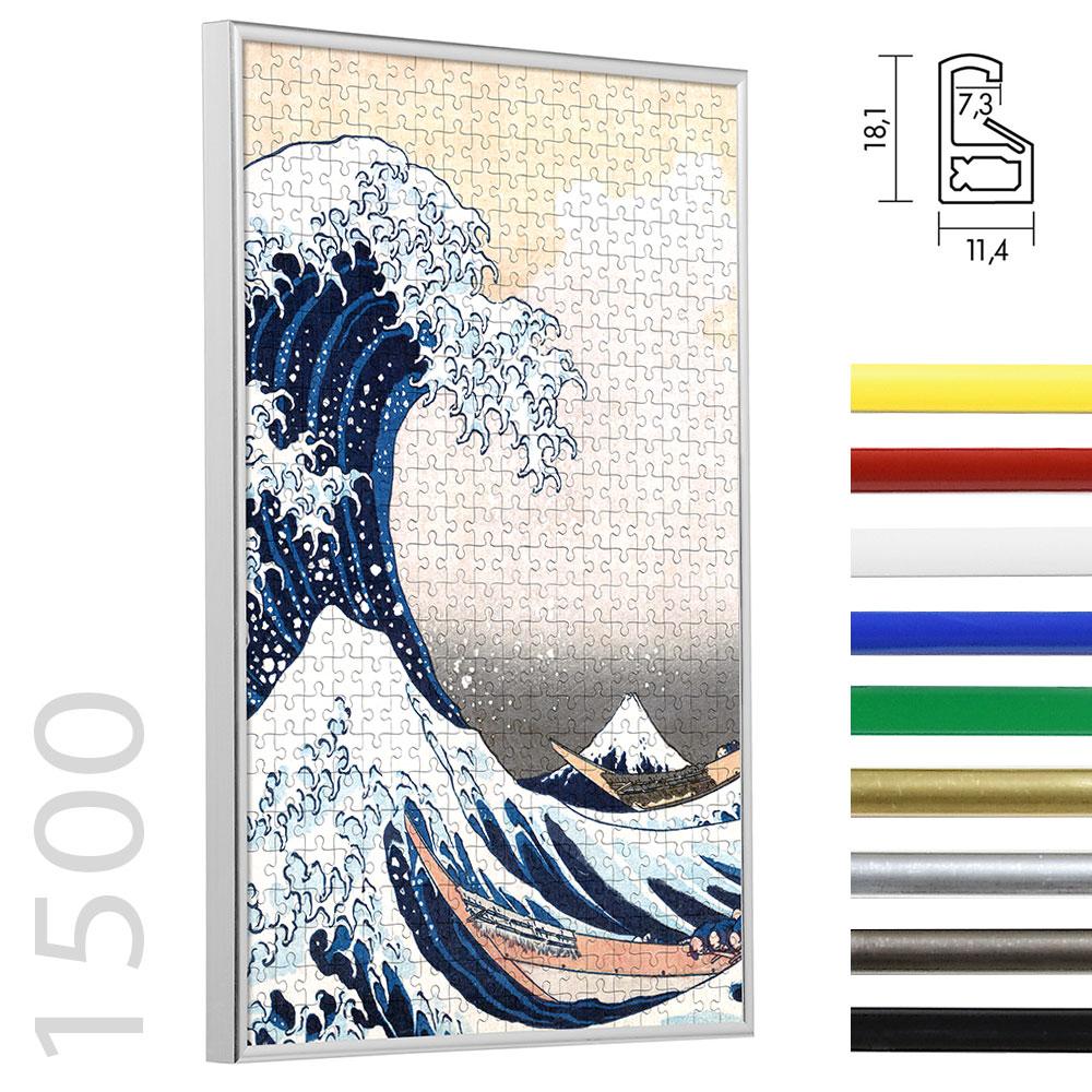 Cadre en plastique pour puzzle 1500 pièces