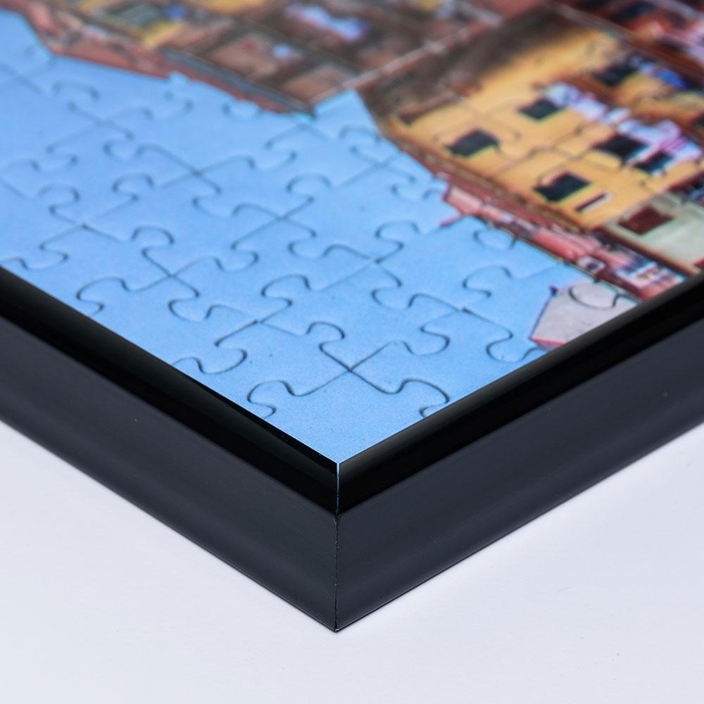Cadre en plastique Gallery 60x80 cm noir