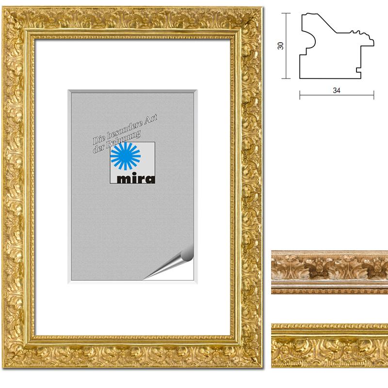 cadre baroque Versailles réalisation sur mesure argent   verre anti-reflet