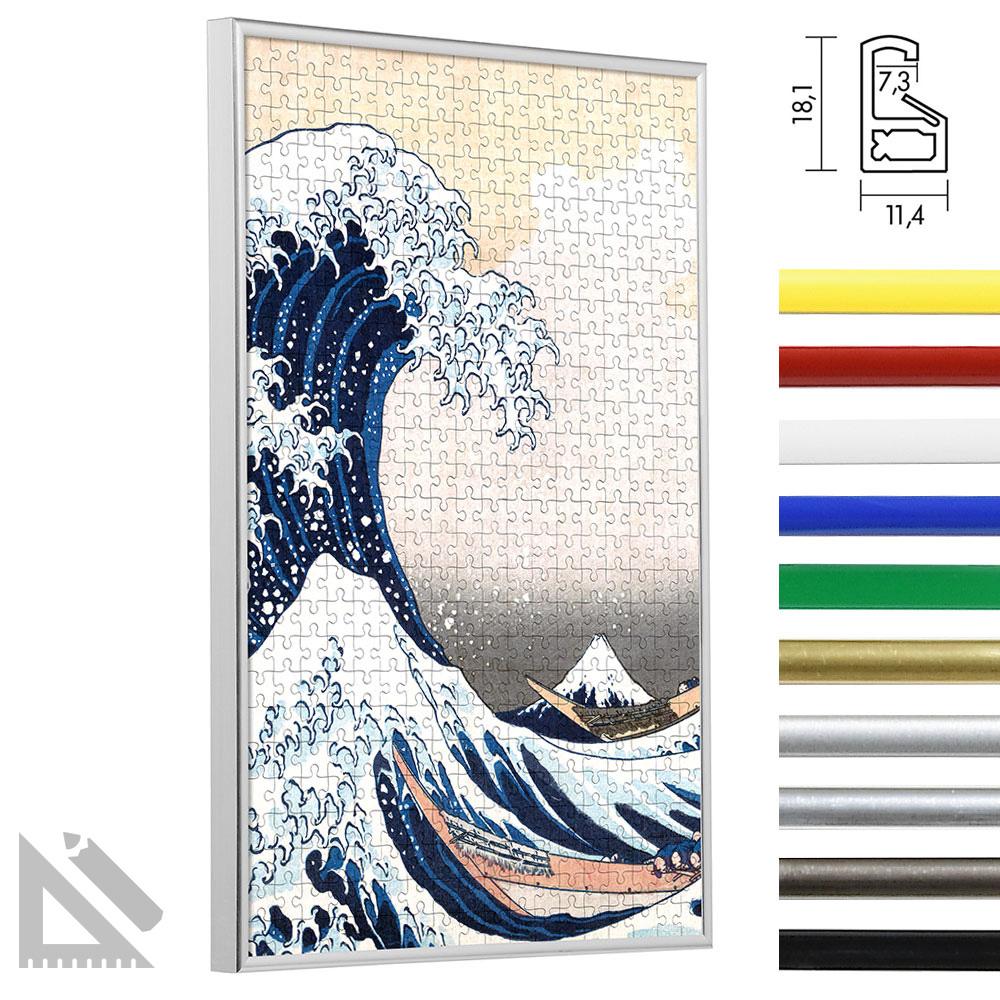 Cadre en plastique pour puzzles - format non standard jusqu'à 100x100 cm