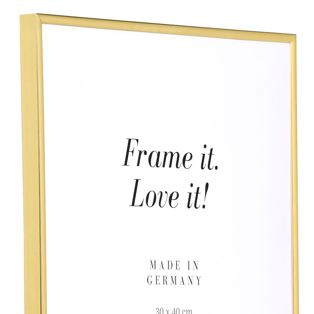 Cadre en plastique Art 10x15 cm | or | verre normal