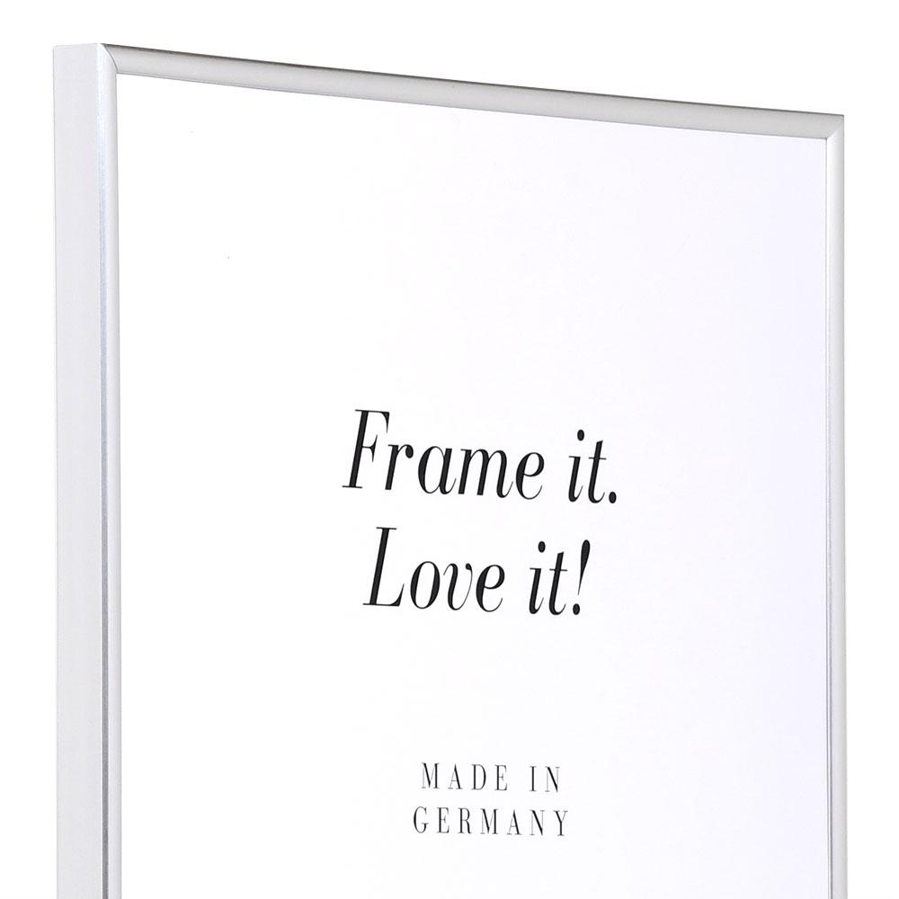 Cadre en plastique Art 10x15 cm | argentin | verre normal