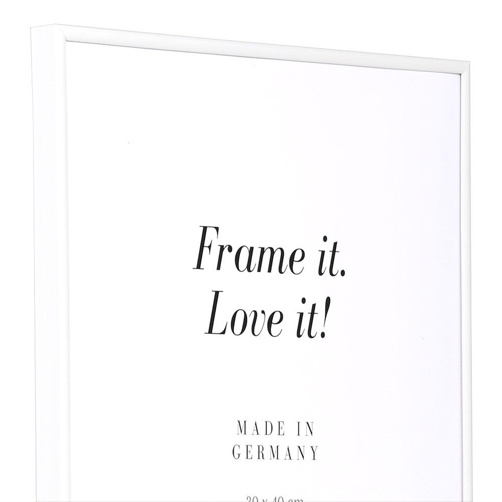Cadre en plastique Art 10x15 cm | blanc | verre normal
