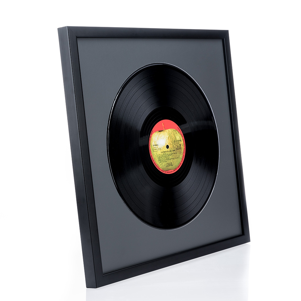 Cadre en bois Top Cube pour vinyles
