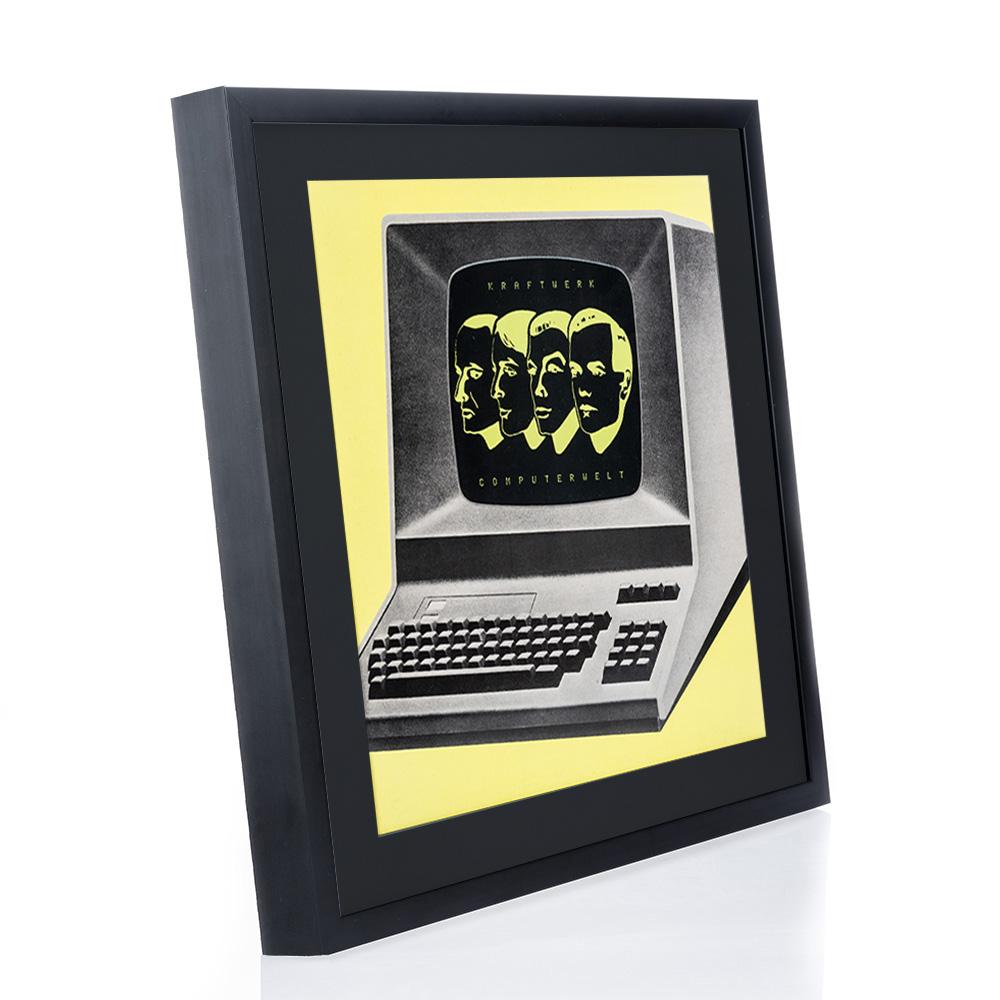 mira cadre en bois figari pour disques vinyliques avec couverture. Black Bedroom Furniture Sets. Home Design Ideas