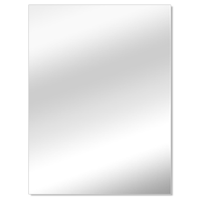 Miroir, 3 mm - verre de remplacement pour cadre