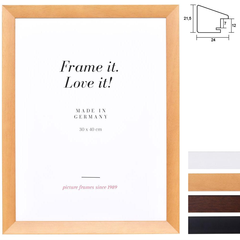 Cadre en bois Top N à dimensions non standard